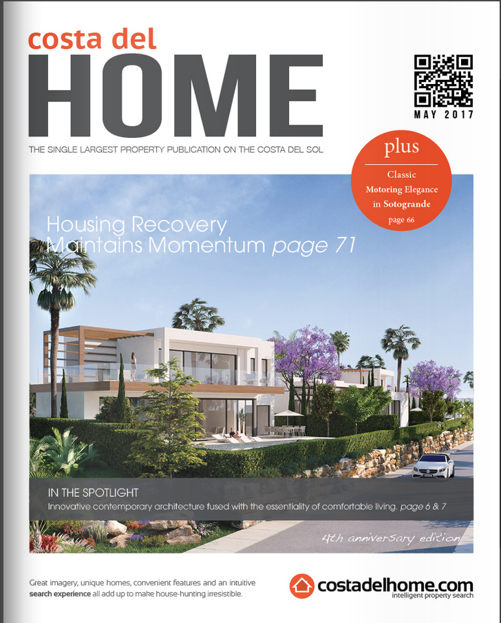 Costa del Home Publication on the Costa del Sol features Arboleda Villas by Real Capital Solutions