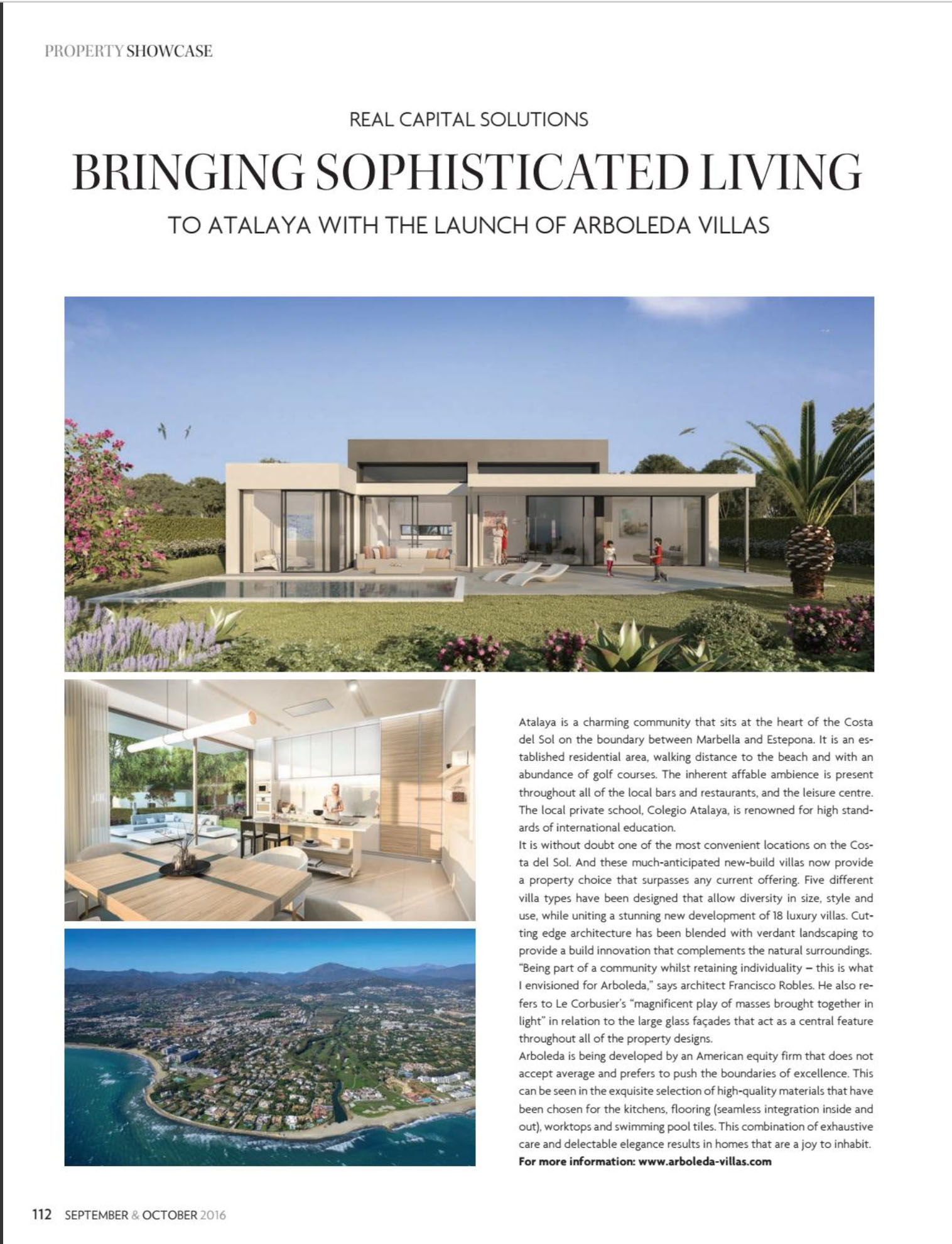 Arboleda by Real Capital Solutions as featured in Home & Lifestyle magazine