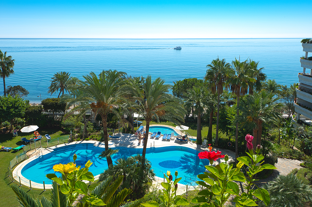Marbella Pool and Sea