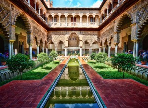 The Alcazar, sevilla